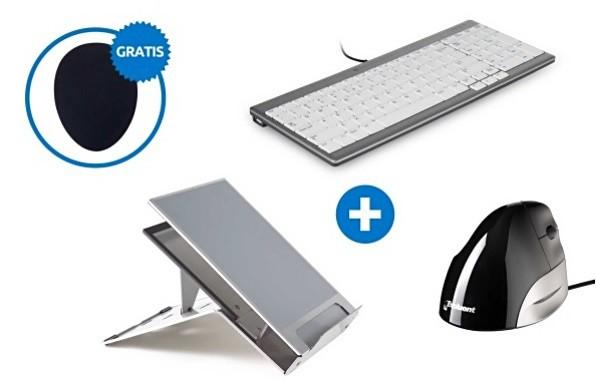BakkerElkhuizen ergonomische bundel Laptopgebruiker set 2