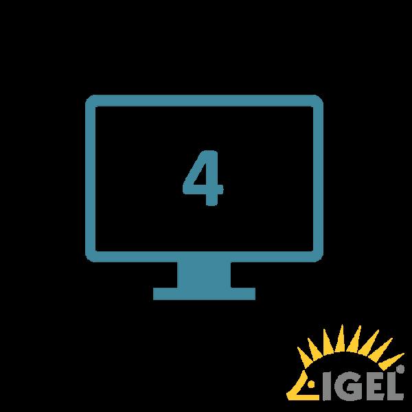 IGEL UD7 Grafikkarte für 4. Displayanschluss