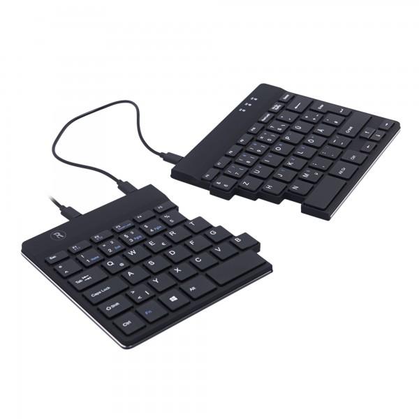R-Go Split Break Ergonomische Tastatur - kabelgebunden