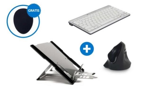 BakkerElkhuizen ergonomische bundel Laptopgebruiker set 1