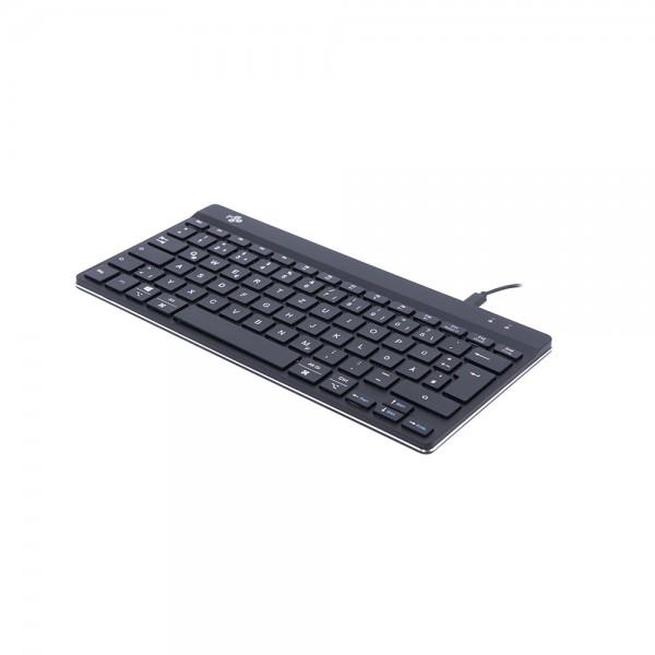 R-Go Compact Break Tastatur - kabelgebunden