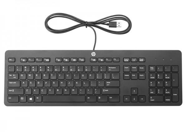 HP USB Business Tastatur flach