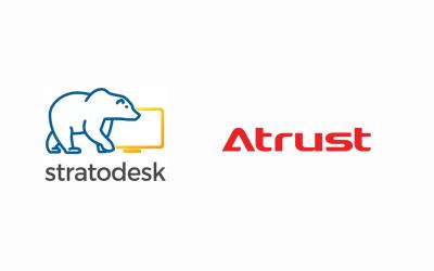 Eine neue Zusammenarbeit zwischen Stratodesk und Atrust bietet Arbeitnehmern überall konkurrenzloses Endbenutzer-Computing
