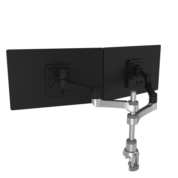R-Go Zepher 4 C2 circulaire dubbele monitorarm (RGOVLZE4TWSI)